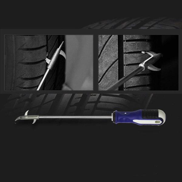타이어 돌제거 틈새 스크래퍼 +드라이버 타이어관리 상품이미지
