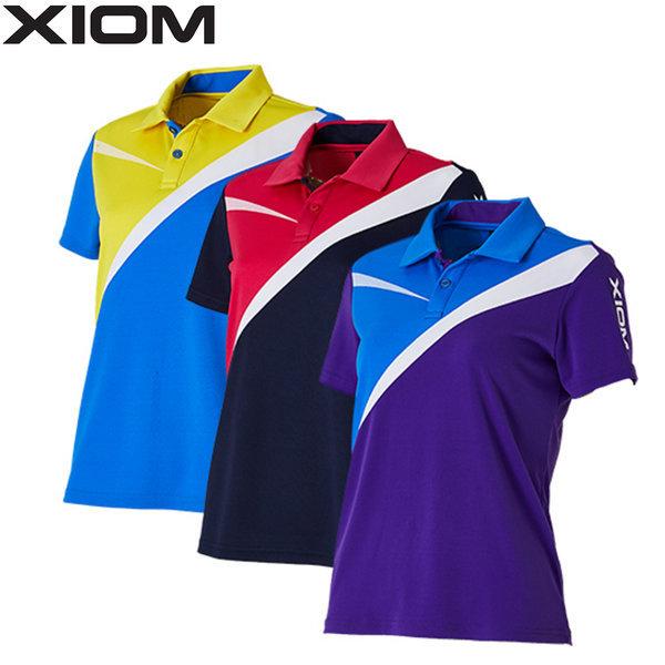 엑시옴 여성용 탁구복 엘리  XIOM ELLIE 탁구티셔츠 상품이미지
