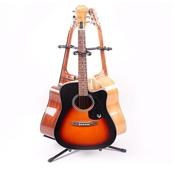 3단 기타스탠드 듀얼기타스탠드 거치대 기타받침대 상품이미지