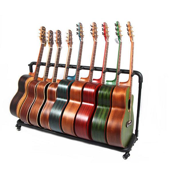 9단 기타스탠드 스탠드형 기타거치대 받침대 상품이미지