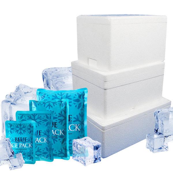 스티로폼박스 대형 택배용 아이스박스 김치 아이스팩 상품이미지