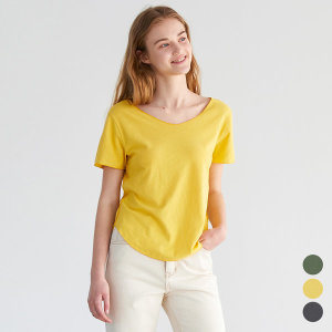 린넨 슬림 반팔 티셔츠 (MCC2-TS013)