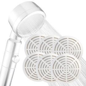 윈프라이스 원터치 수압상승 샤워기 전용필터 6p
