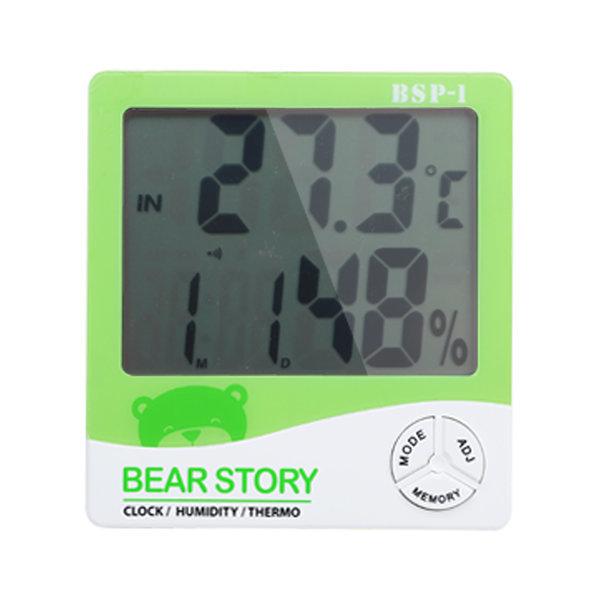 디지털 온습도계 습도계 온도계 BSP-1(그린) 상품이미지