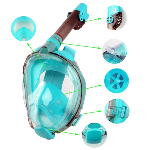 풀페이스 스노쿨링 스노클링 마스크 물안경 /LGA 모델 상품이미지