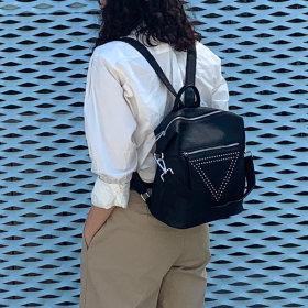 소가죽 백팩 여성가방 대학생백팩 숄더백 배낭 L1003