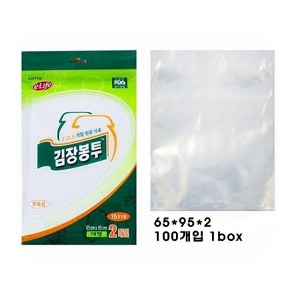 PJ김장봉투(대) 1Box 김장봉투 비닐봉투 투명비닐봉 상품이미지