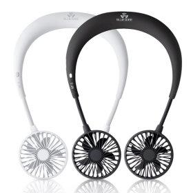넥밴드 휴대용선풍기 목걸이 핸즈프리 BI-NF5 블랙