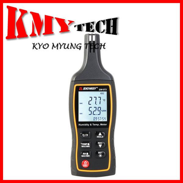 디지털 온습도계 SW-572 온습도 -20~60 /0~100% 측정 상품이미지
