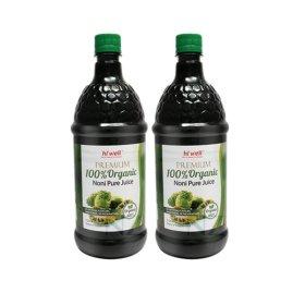 뉴질랜드 정품 프리미엄 100% 유기농 노니주스 1L 2병