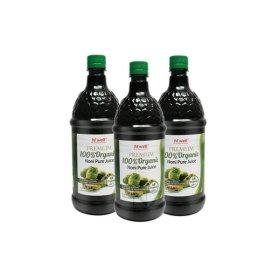뉴질랜드 정품 프리미엄 100% 유기농 노니주스 1L 3병