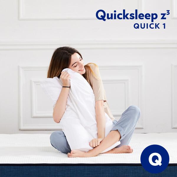(현대Hmall)퀵슬립 Q1 롤팩 매트리스 퀸(Q) 상품이미지