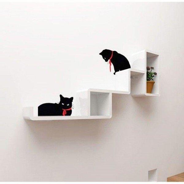 cat tower 벽선반1개 인테리어벽선반 선반대 거실선 상품이미지