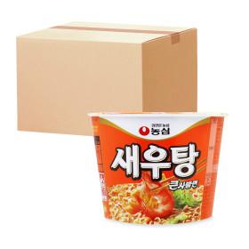 Shrimp Flavor Noodle Soup Big Bowl 1 box (16pcs)