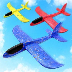 에어 글라이더 나혼자산다 스티로폼 비행기 (색상랜덤)
