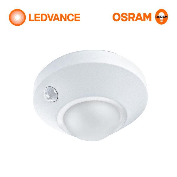 원형 무선 LED 센서등 동작감지 현관등  건전지포함 상품이미지
