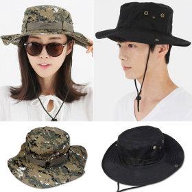 벙거지 자외선차단 모자 썬캡 등산 낚시 여성 여름