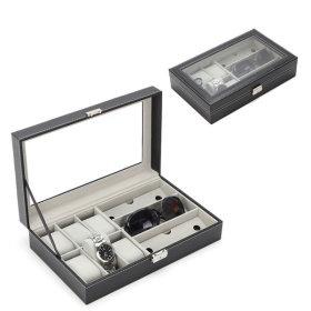 시계6구 선그라스3구 안경시계보관함 케이스 무료배송
