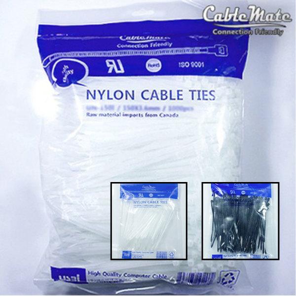 무료배송 100개 케이블타이 전선정리/선정리/배선정리 상품이미지