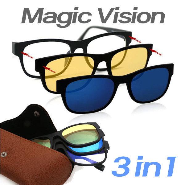 매직비젼 선글라스 썬글라스 클립 편광 자외선 클립온 상품이미지