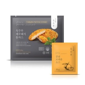 옥주부)등심돈까스150G (소스포함)