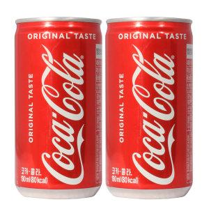 [코카콜라]코카콜라 190ml x 30캔 / 탄산음료 캔콜라 캔음료