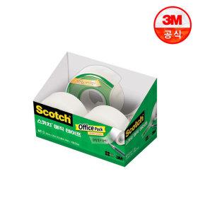 스카치 매직테이프 오피스팩 MT-3(디스펜서+리필2롤)