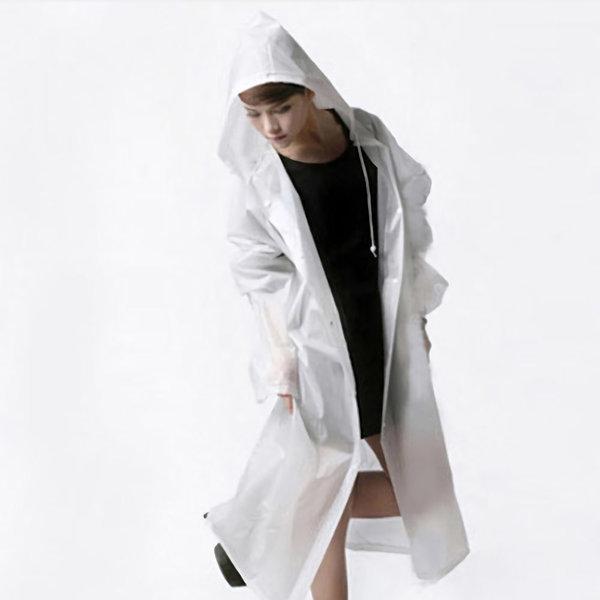 여성 레인코트 E타입 반투명 여자비옷 등산여행우비 상품이미지