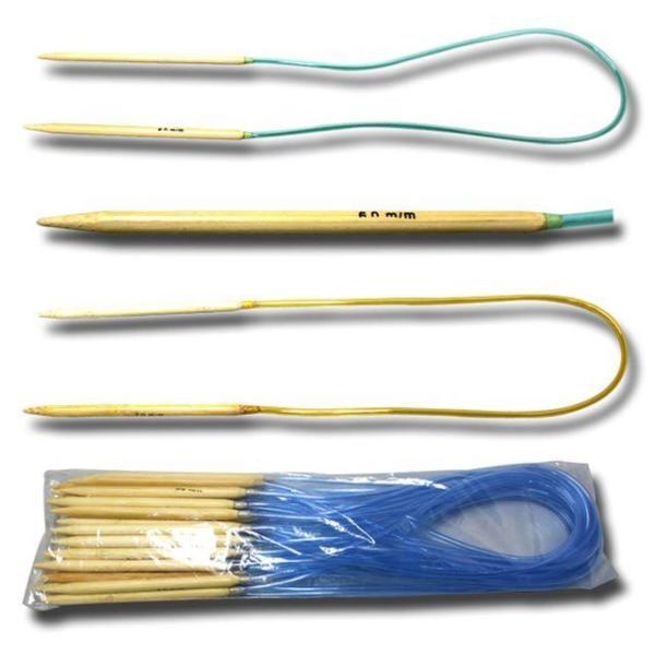 뜨개질바늘 낱개 털실로 직조물을 제작할 때 사용하 상품이미지