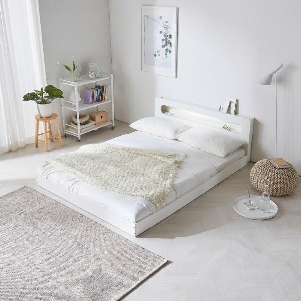 파로마 에반 LED 저상형 침대/일반형 퀸(Q)_프레임만(착불) 상품이미지