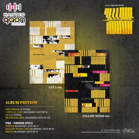 (예판특전/일반반) 스트레이 키즈 (Stray Kids) - 스페셜 앨범 Cle 2 : Yellow Wood