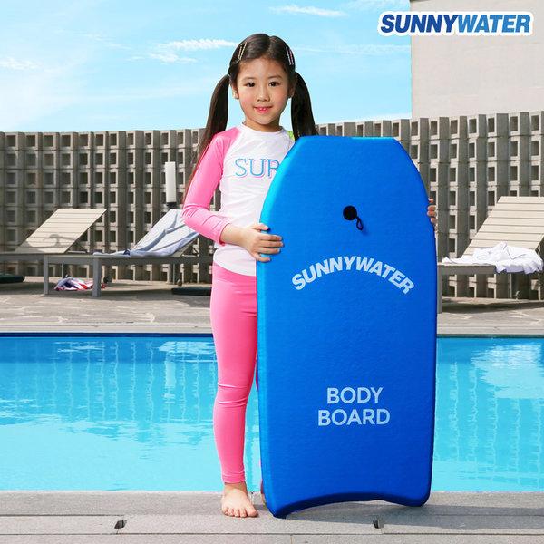 써니워터 바디보드 (블루) 37인치 물놀이 킥판 서핑 상품이미지