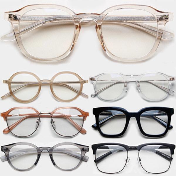 투명안경테 뿔테 안경 스윗 데일리 투명안경 모음전 상품이미지