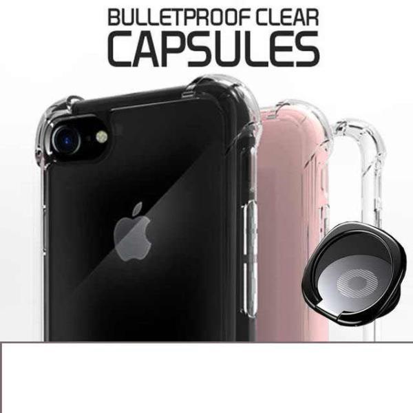 LG G8 크리스탈 에어백 아머 방탄캡슐+메탈링SET 상품이미지