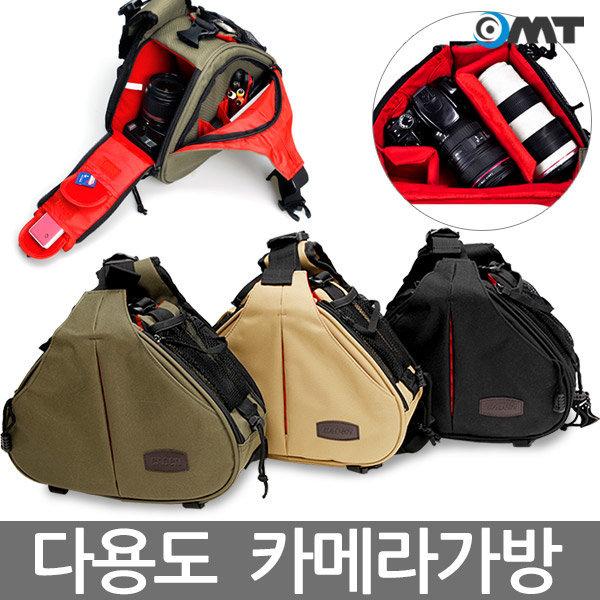 OMT 카메라가방 CADEN-K1 DSLR 카메라가방 렌즈가방 상품이미지