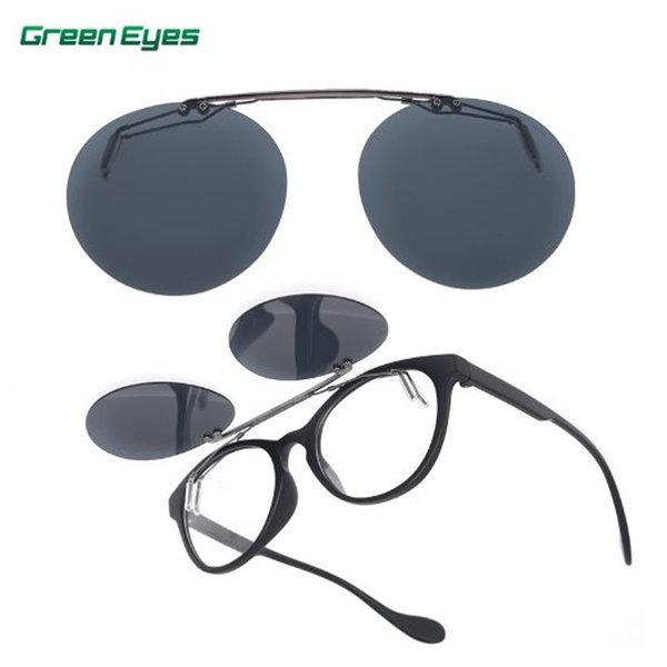 그린아이즈 클립온 KPC 편광렌즈 골프 선글라스 상품이미지