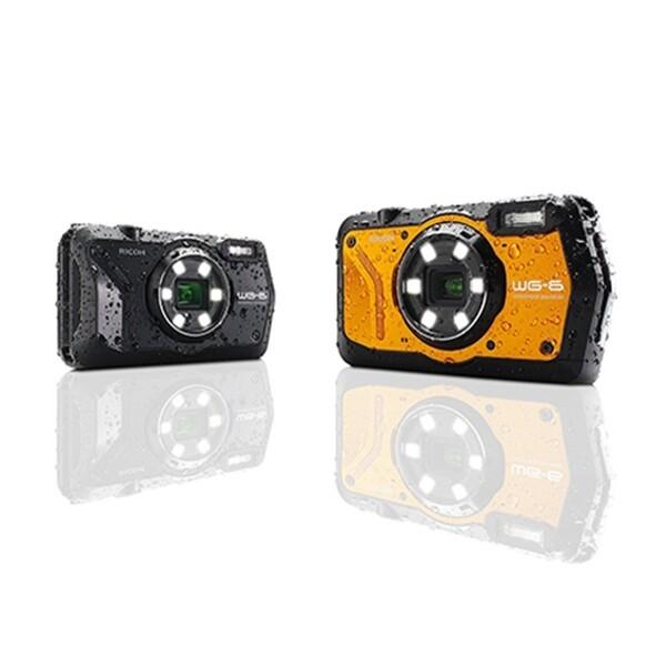 (현대Hmall)RICOH WG-6 / 블랙/오렌지 / 방수카메라 / 세기피앤씨정품 상품이미지