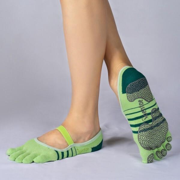 TOENTOE(토앤토) STRAP CLOSED TOE-YELLOWGREEN+GREEN 상품이미지