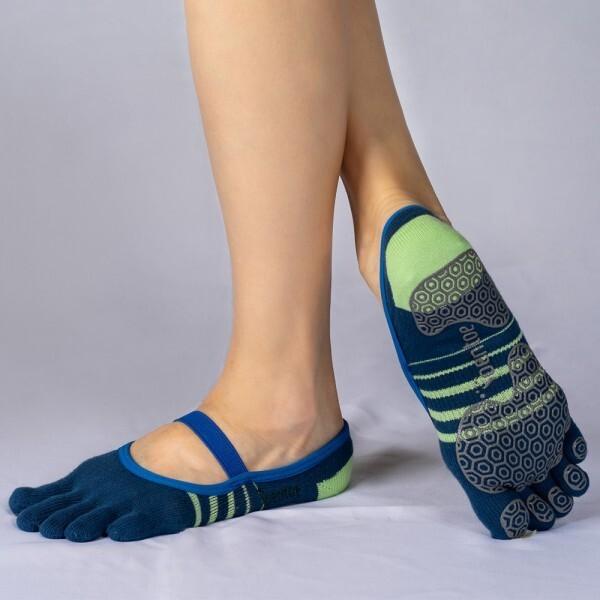 TOENTOE(토앤토) STRAP CLOSED TOE-BLUE+YELLOWGREEN 상품이미지