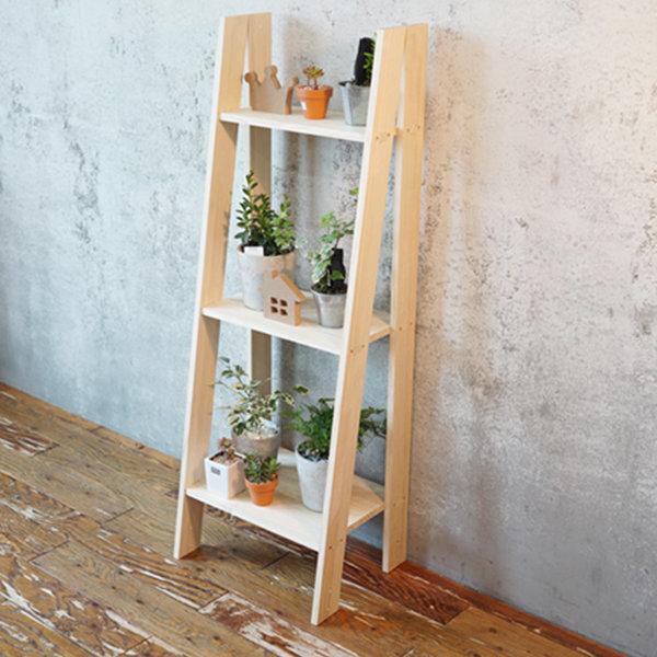 원목 사다리 책장 화분받침대(소)/화분진열대/정리대 상품이미지