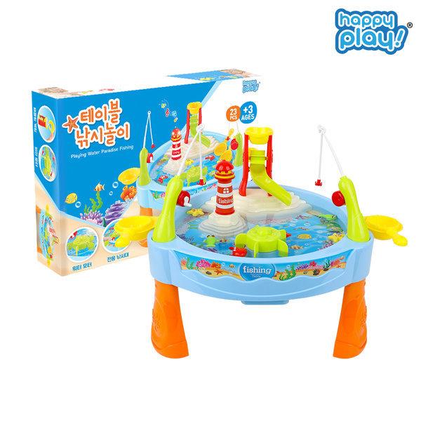 해피플레이 테이블 낚시놀이 물놀이 목욕 장난감 상품이미지