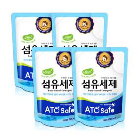 아토세이프 아기세제 (1.3L 4개)/중성세제/세탁세제