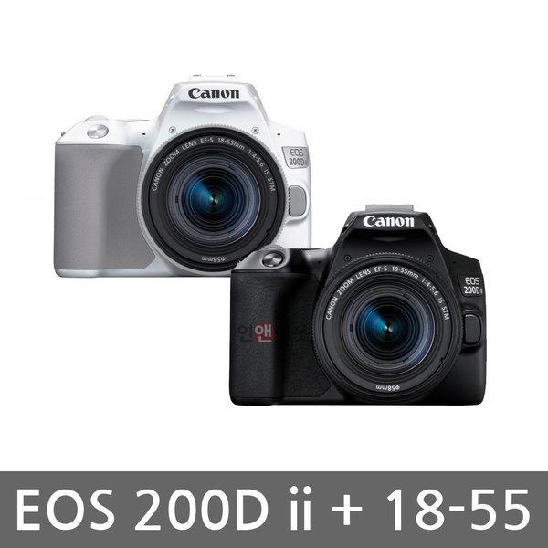 캐논정품 EOS 200D ii (18~55mm) + 64G + 32G 패키지 상품이미지