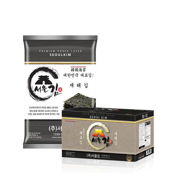 서울김 재래김 10봉 상품이미지