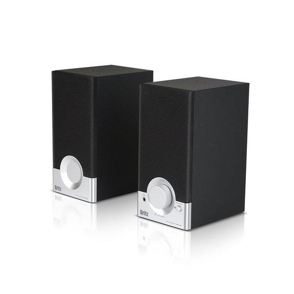 BR-1000A Cuve Black2 2채널 컴팩트 북쉘프 스피커 상품이미지
