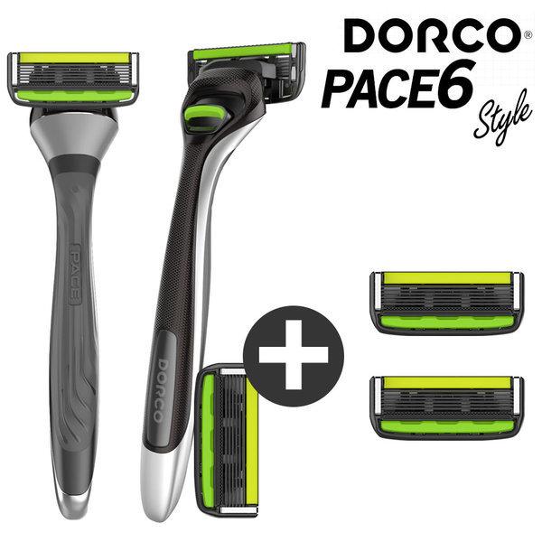 도루코 페이스6 스타일 면도기+면도날 2개 (총 4개) 상품이미지