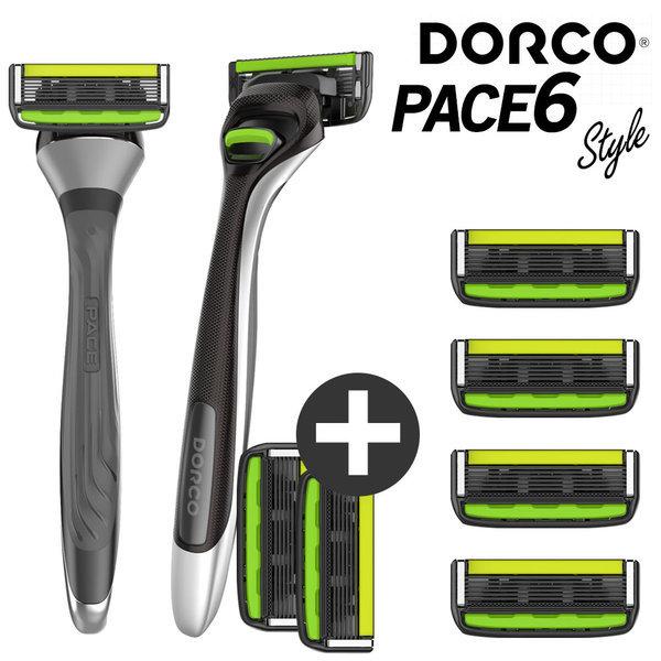도루코 페이스6 스타일 면도기+면도날 4개 (총 8개) 상품이미지