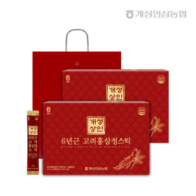 Gaesung Merchant 6-year-old Goryeo Red Ginseng Extract Stick 10ml 30 Sticks 1+1/Total 60 Sticks
