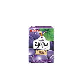 리브 포도 190mlx24입  /음료/과일음료