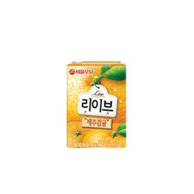 리브 제주감귤 190mlx24입  /음료/과일음료